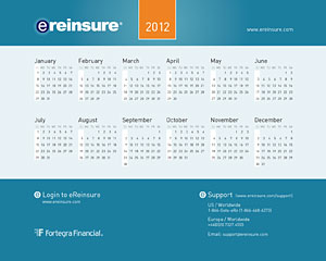 eRe Calendar 2012 Wallpaper